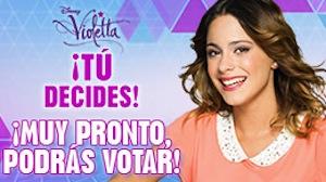 Tu decides vota los nuevos capitulos de violetta