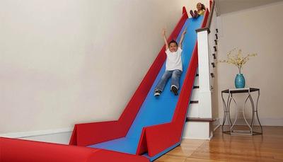 tobogán infantil para casas con escaleras