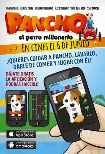 App gratis para niños Pancho el Perro MillonarioApp gratis para niños Pancho el Perro Millonario