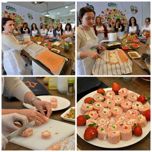 Receta infantil divertida de sushi dulce Elisa LLobet