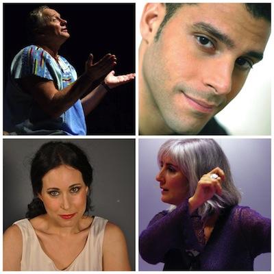 artistas teatro Tim Bowley, Carmen Garcia Lorca, Maisa Marban