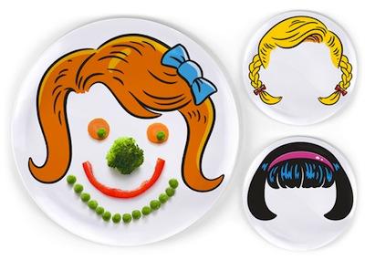 platos niños divertidos