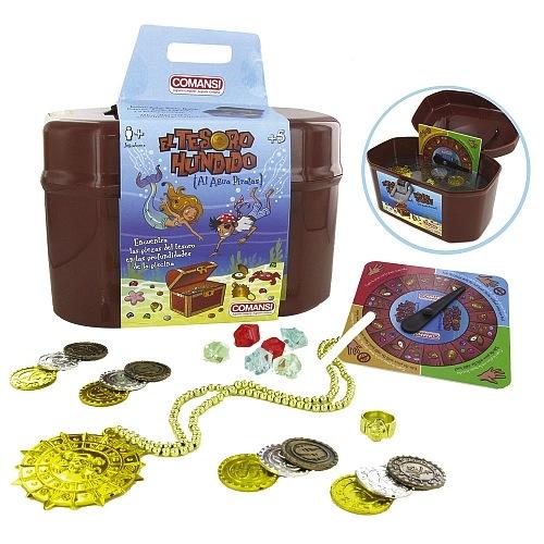 el tesoro hundido de comansi es un cofre pirata que esconde multitud de tesoros.