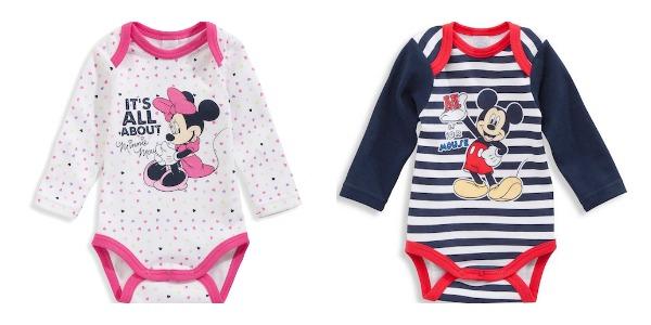 Bodies de bebé Minnie y Mouse