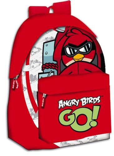 Mochila Angry Birds Go roja