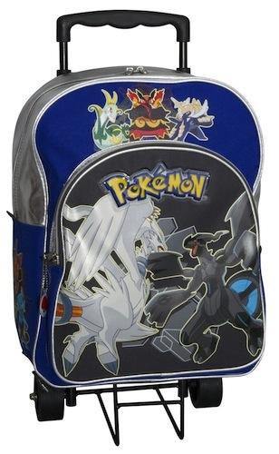 Mochila Pokemon con ruedas para niños