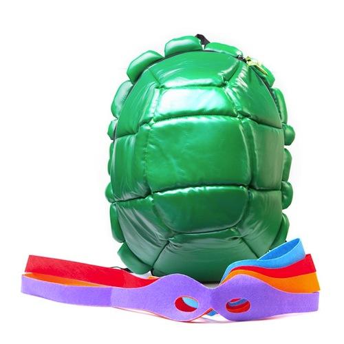 Mochila caparazón de las Tortugas Ninja
