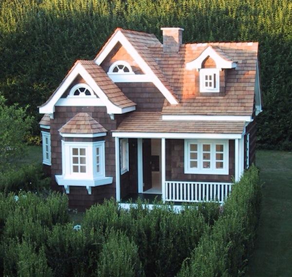 Casa infantil para el jardín de La Petite Maison