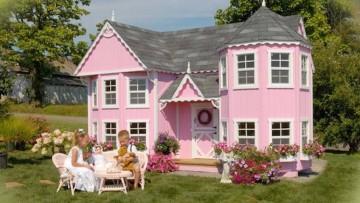 5 casas de jardín para niños o pequeñas mansiones que te harán soñar