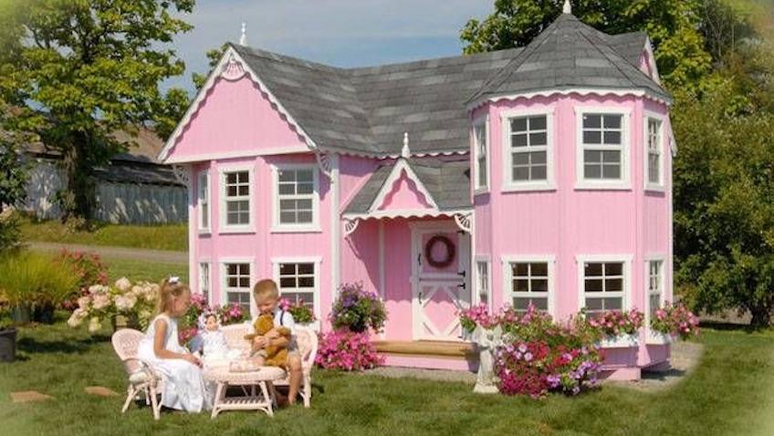 casas de jardin para niños