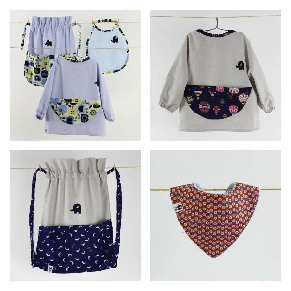 ropa y complementos para la guardería