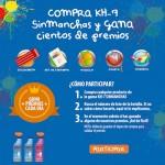 Consigue cientos de premios con KH7 Sinmanchas