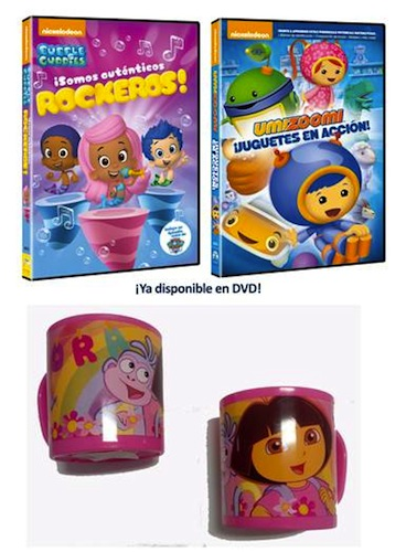 BUBBLE GUPPIES: SOMOS AUTENTICOS ROCKEROS y UMIZOOMI: ¡JUGUETES EN ACCIÓN!