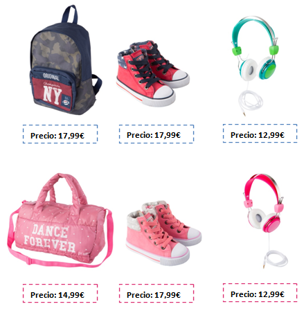 mochilas, bolsos y accesorios vuelta al cole