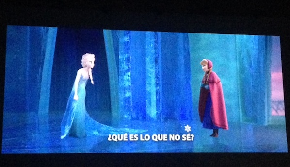 Frozen Sing Along Elsa y Anna