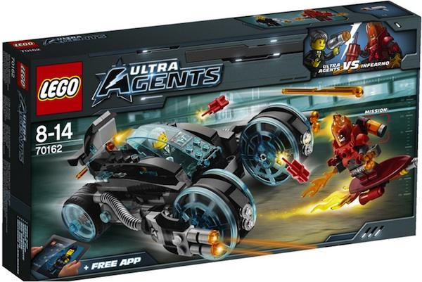 Set Intercepción infernal de LEGO