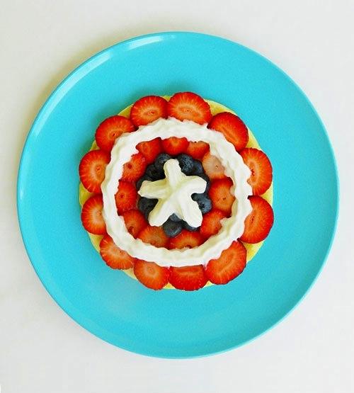 Tortita de Capitán América