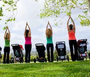 ejercicios para mamás con bebés Madrid y Valencia