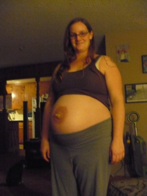 Disfraces halloween embarazadas pezon