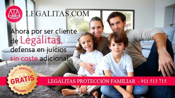 Légalitas protección familiar juicios gratis para clientes