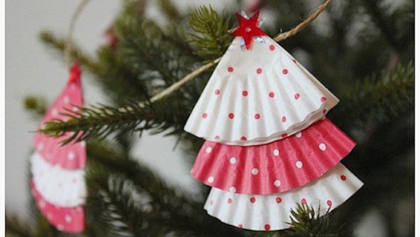 Adornos navideos fciles para hacer con nios