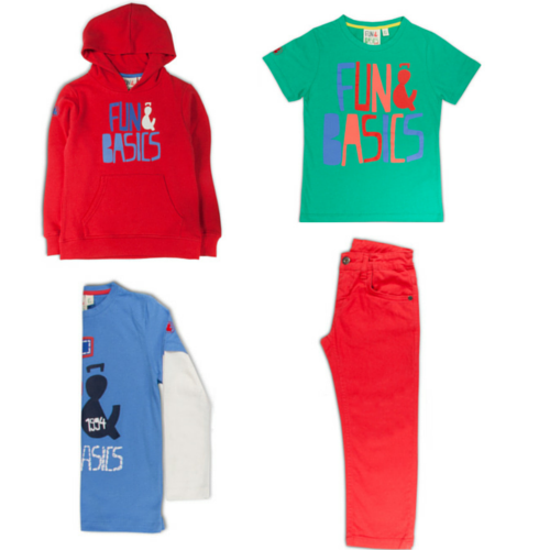 ropa infantil Fun and Basics
