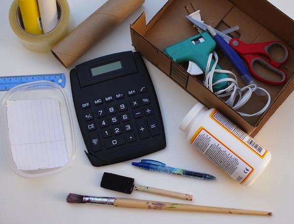 materiales caja registradora juguete