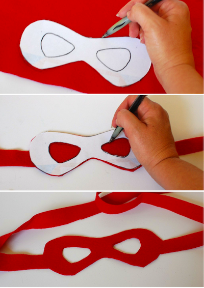 disfraz infantil casero tortuga ninja mascara