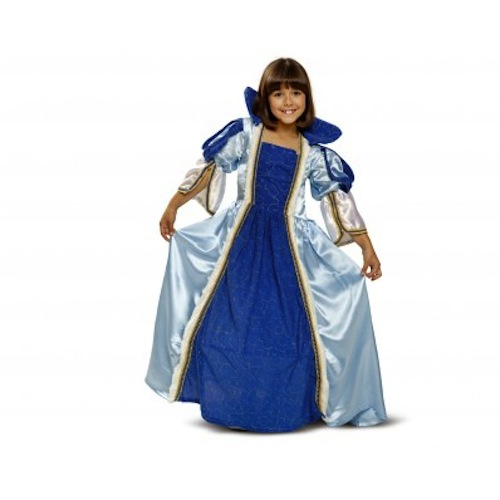 disfraz infantil princesa azul