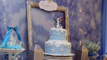 Celebra una fiesta temática inspirada en Olaf de Frozen