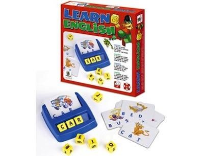 juego de mesa aprender ingles