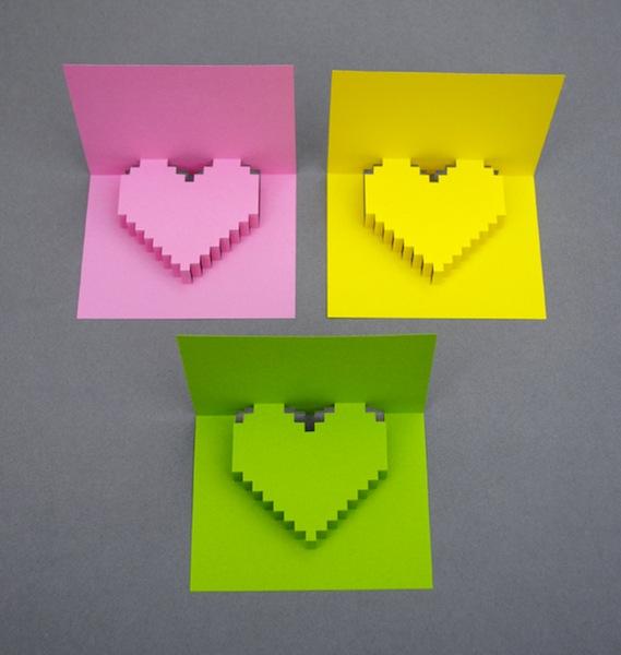 Elige el color que prefieras para tu tarjeta de San Valentín
