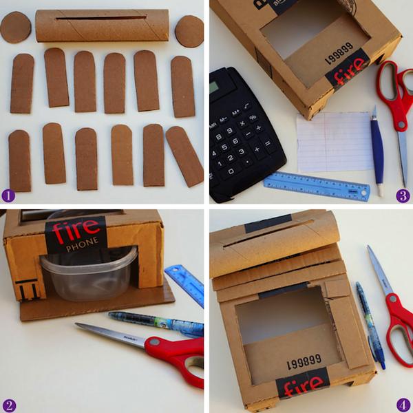 tutorial caja registradora de juguete