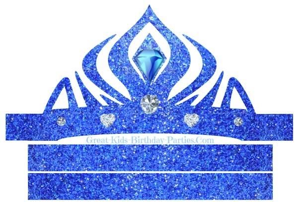 Corona de Elsa Frozen imprimir