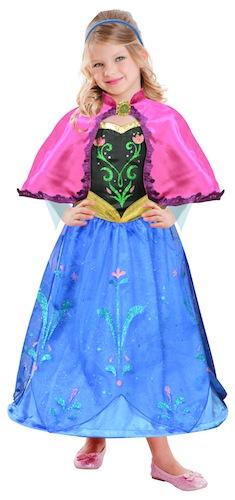 Disfraz Anna de Frozen con capa