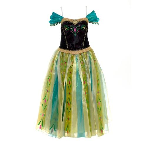Disfraz de lujo de Anna de Frozen