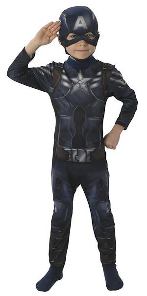 Disfraz infantil de Capitán América El Soldado de Invierno
