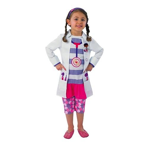 Disfraz infantil de Doctora Juguetes