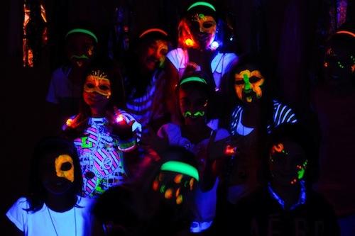 Fiesta disco infantil