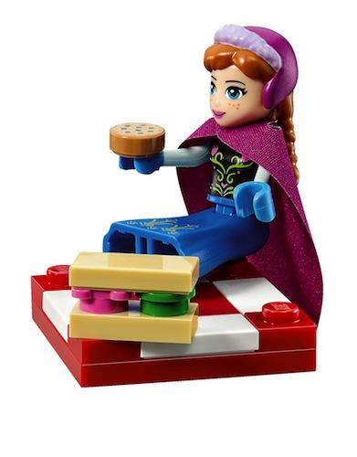 Lego Minifigura Anna Frozen