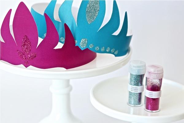 Coronas de Frozen de Anna y Elsa