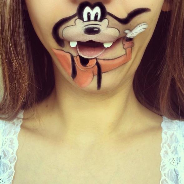 Maquillaje de Pluto