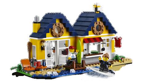 Casa de playa de LEGO Ideas