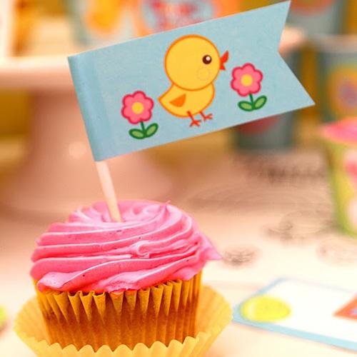 Decoración de Cupcakes Pascua