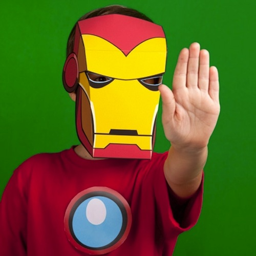 disfraz infantil casero iron man