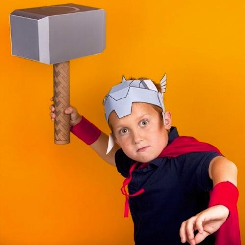 disfraz infantil casero thor