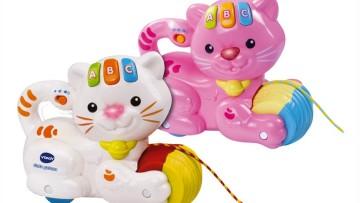 Los mejores juguetes para bebés a partir de 0 meses