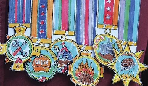medallas dia del padre