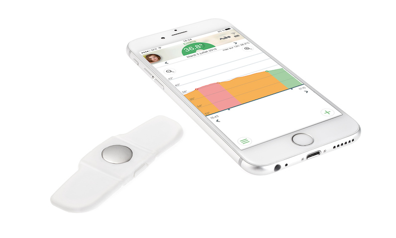 Tucky termómetro inteligente para bebés con app