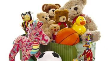Infografía sobre los beneficios y habilidades que desarrollan los juguetes en los bebés